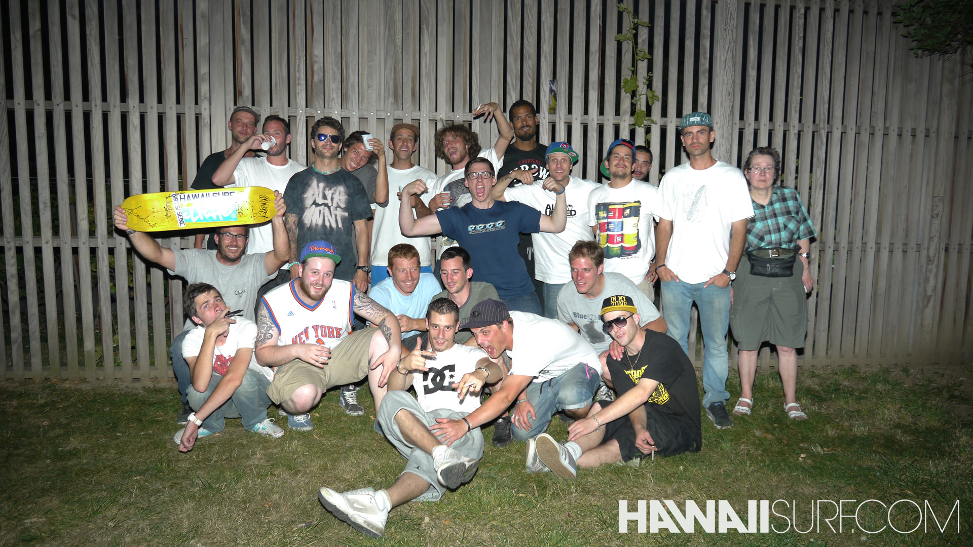 Le team Cliché chez HawaiiSurf mercredi 25 juillet 2012