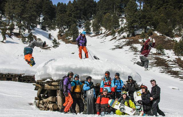 APO Snowboard au Cachemire pour les 30 ans de snow de Régis Rolland