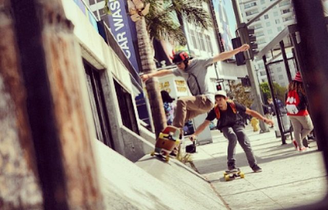 Laurent Perigault - Five-O - Los Angeles - Loaded Tesseract Trucks Paris
