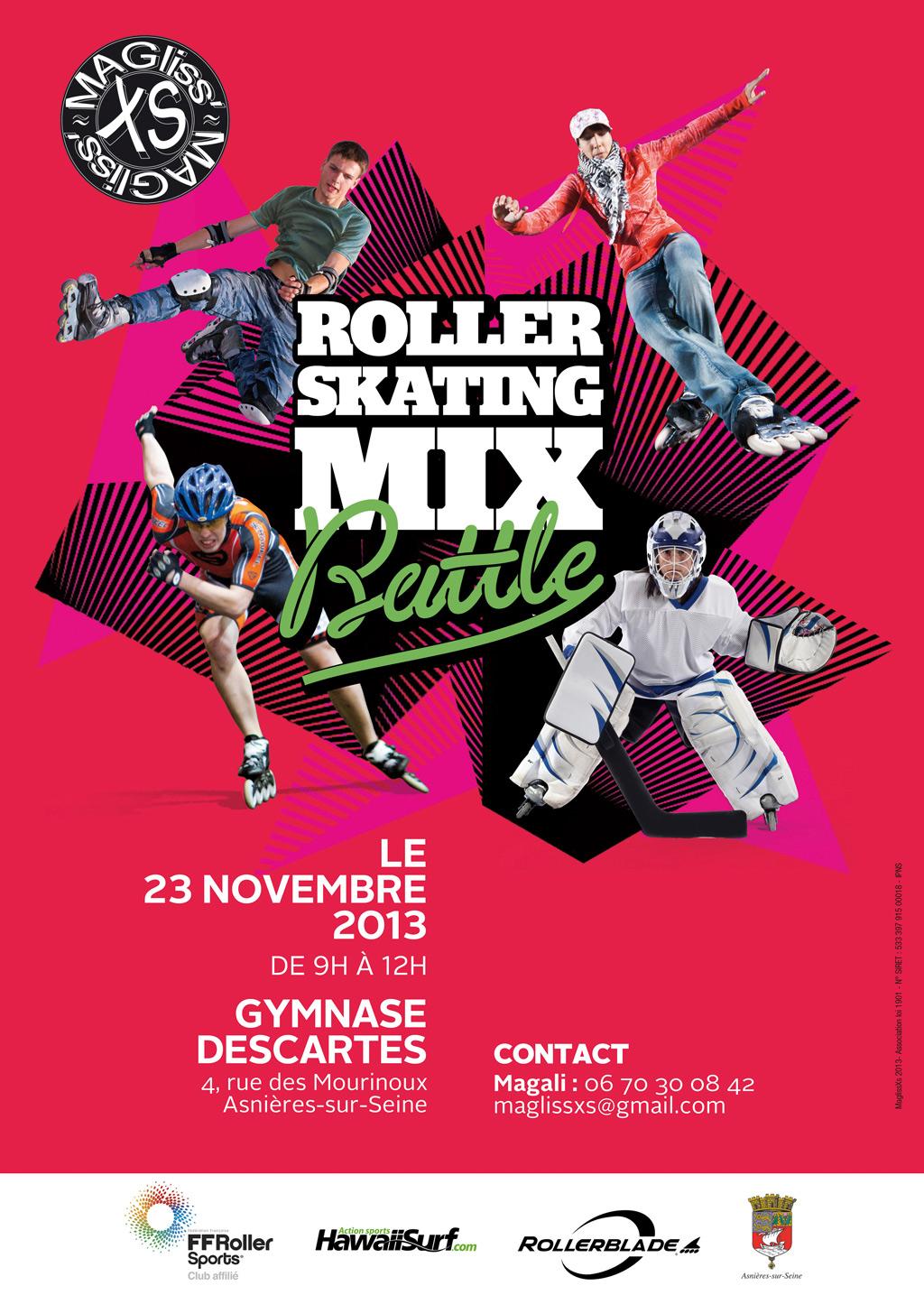 Roller Mix Battle avec MaGliss XS à Asnières