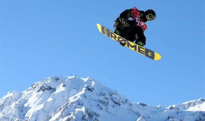 Staale Sandbech slopestyle snowboard Sochi