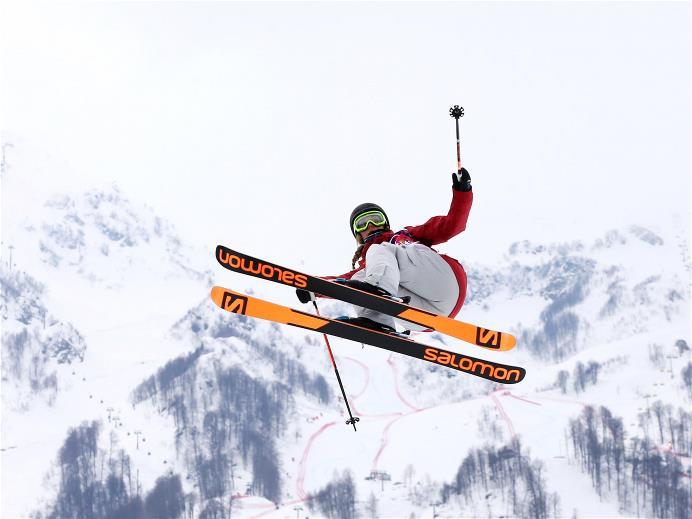 Ski slopestyle femmes à Sochi