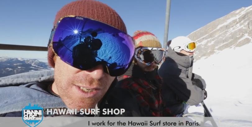 HawaiiSurf à la Clusaz au salon Sportair
