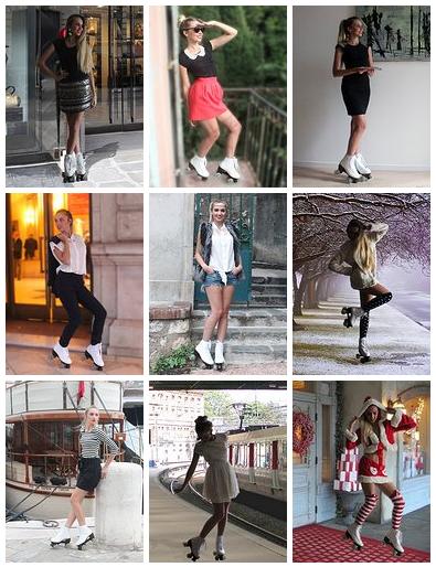 Lookbook agence RollerGirls