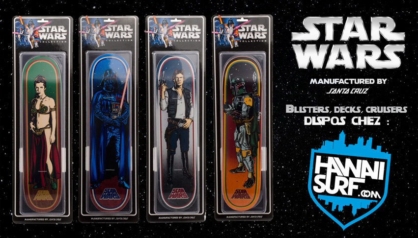 Planches de skateboard Santa Cruz Star Wars