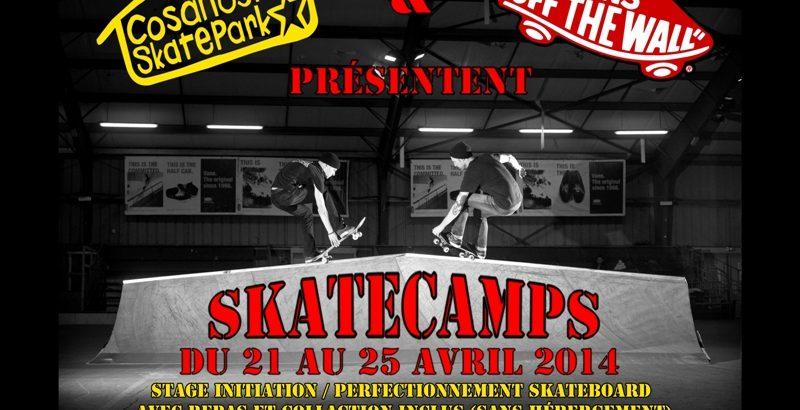 Skatecamp stage skateboard 2014 avec HawaiiSurf