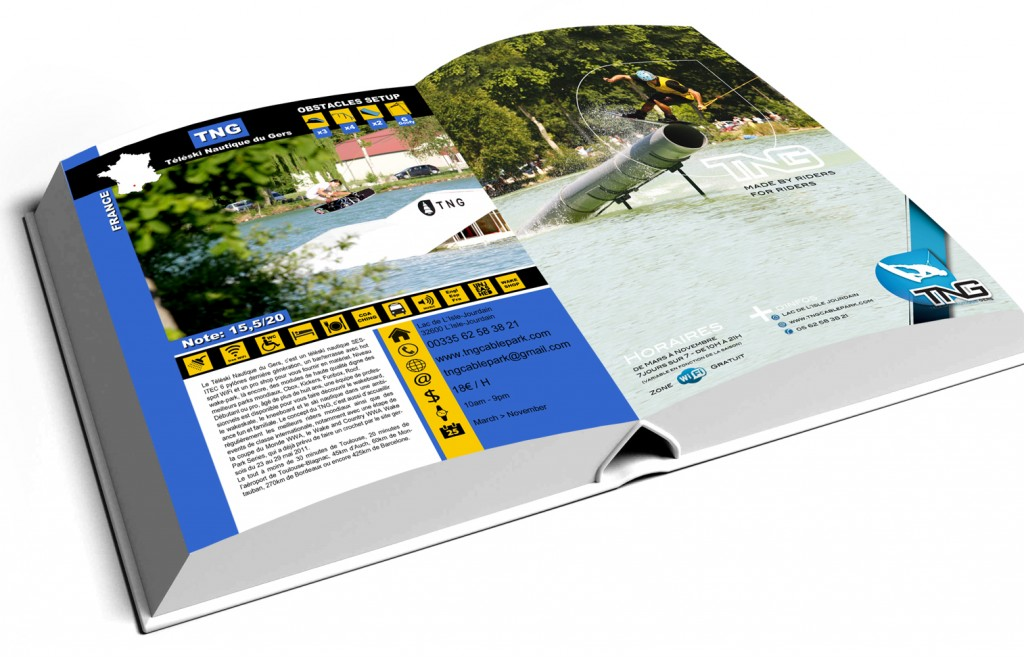 Guide des cable park 2014 Unleashed