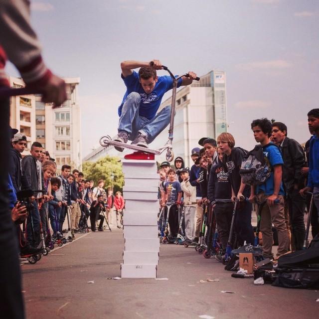 Bunny hop contest - street jam 2014