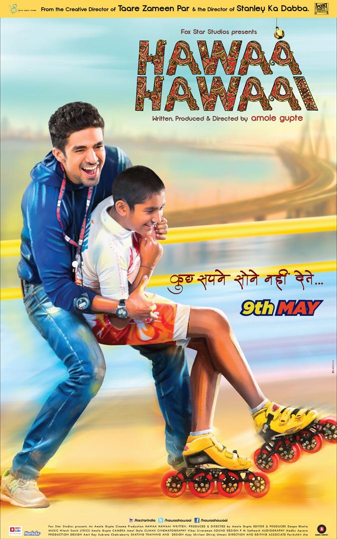 Affiche film Hawaa Hawaai bollywood roller