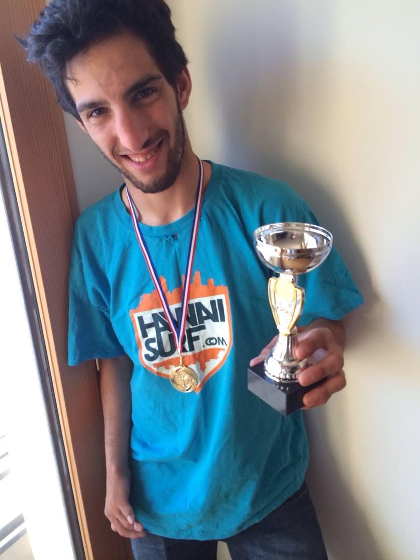 Zahir Hanaizi au Sunride Contest