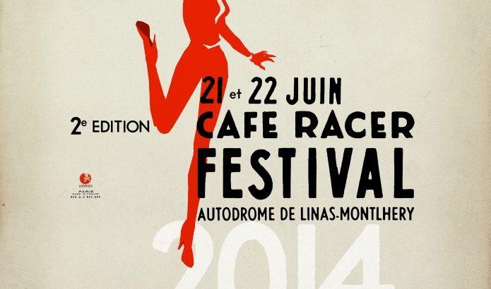 Affiche Café racer festival 2014