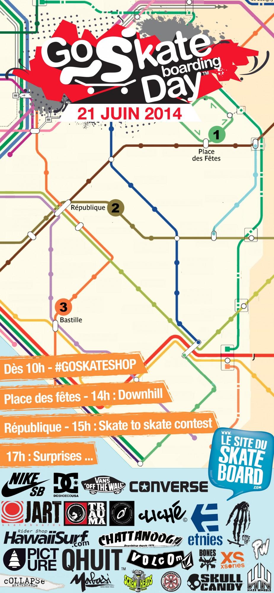 Programme Go Skateboarding Day 2014