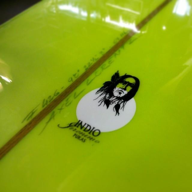 Planche de longboard 9.0 Pukas Indio Noserider jeronimo