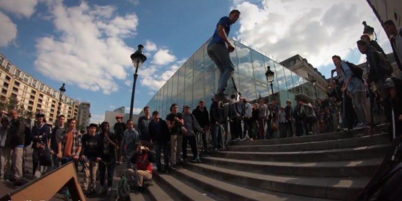 Cyrille Pouyaud à la Dissidence Street Jam V5