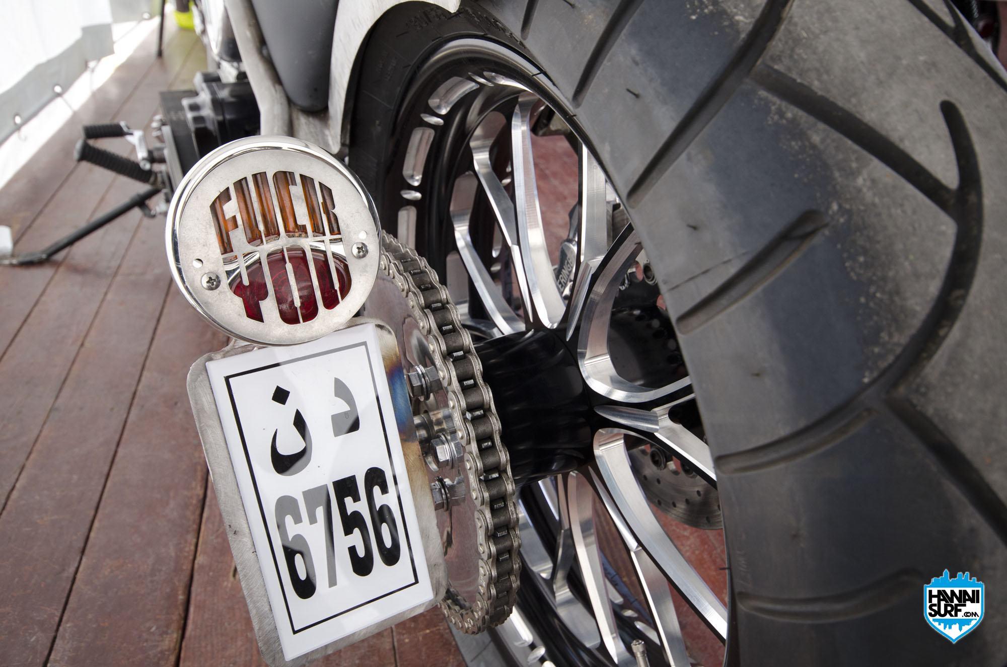 Custom Ducati au Café racer festival