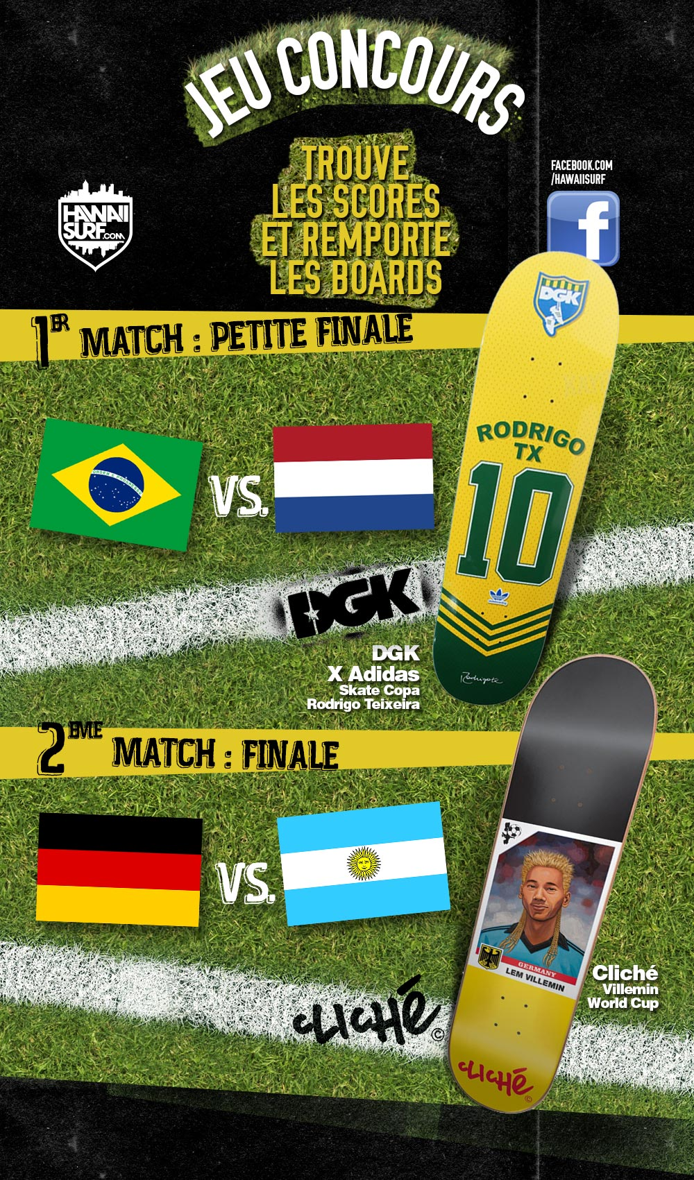 Jeu concours world cup foot