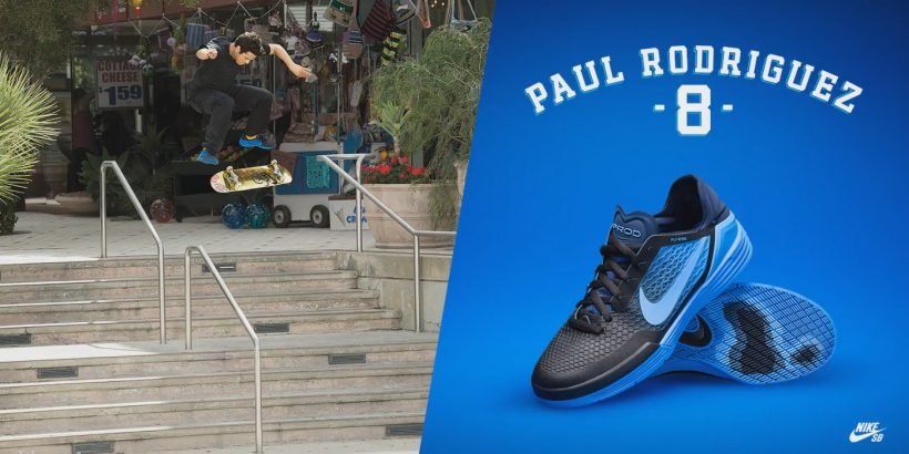 Nike P-Rod 8 skateshoes