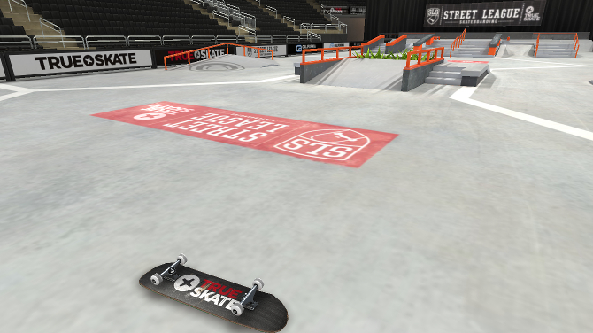 True Skate le jeu officiel de la Street League
