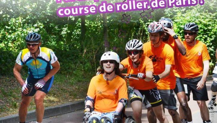 Affiche Course endurance 6h Roller Paris