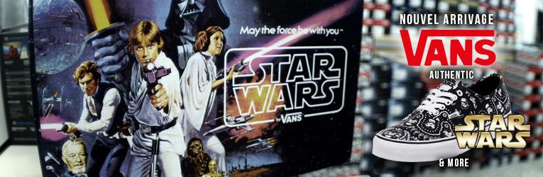 Vans edition spéciale Star Wars