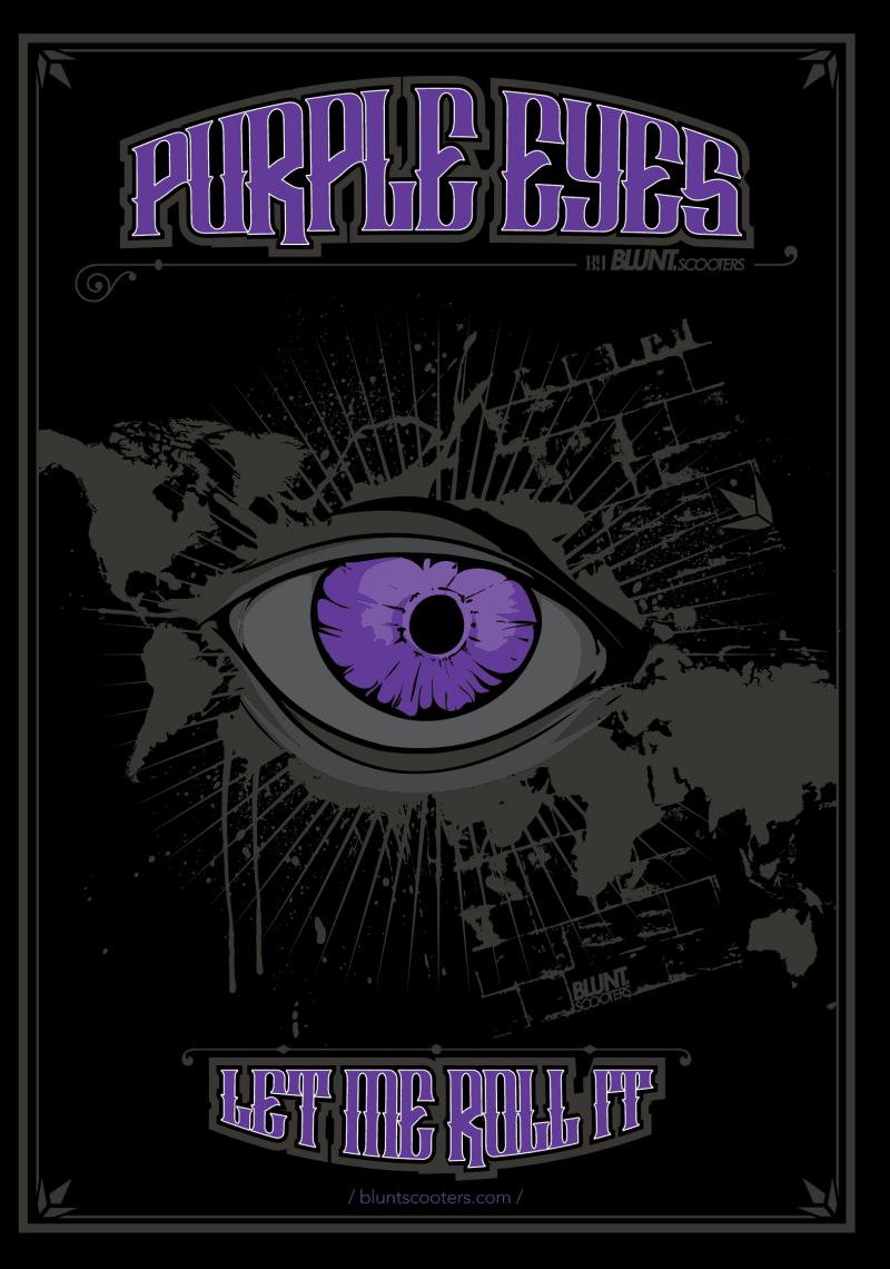 DVD Blunt Scooters Purple Eyes