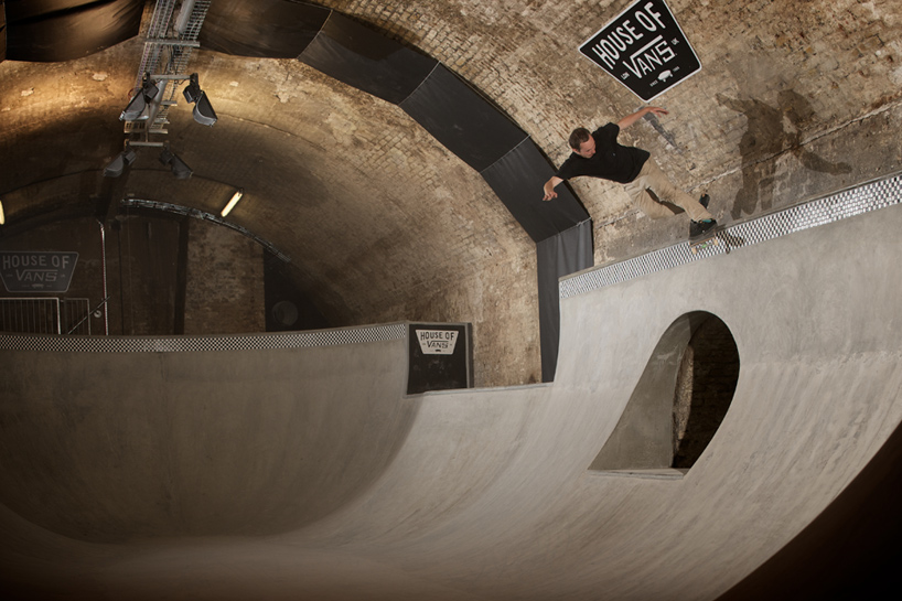 House of Vans London - Photo designboom