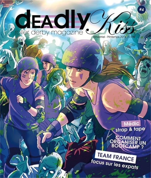Deadly Kiss french Roller Derby Magazine 4