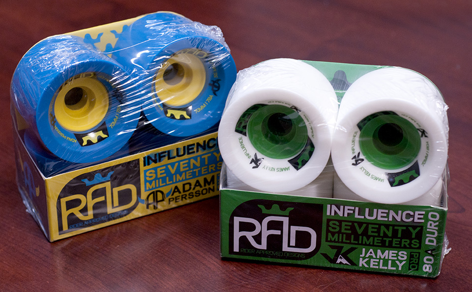 Roues Radd wheels influence