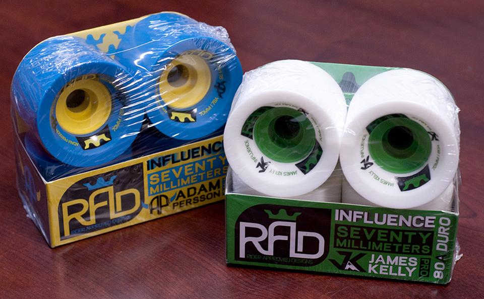 Roues Radd wheels influence