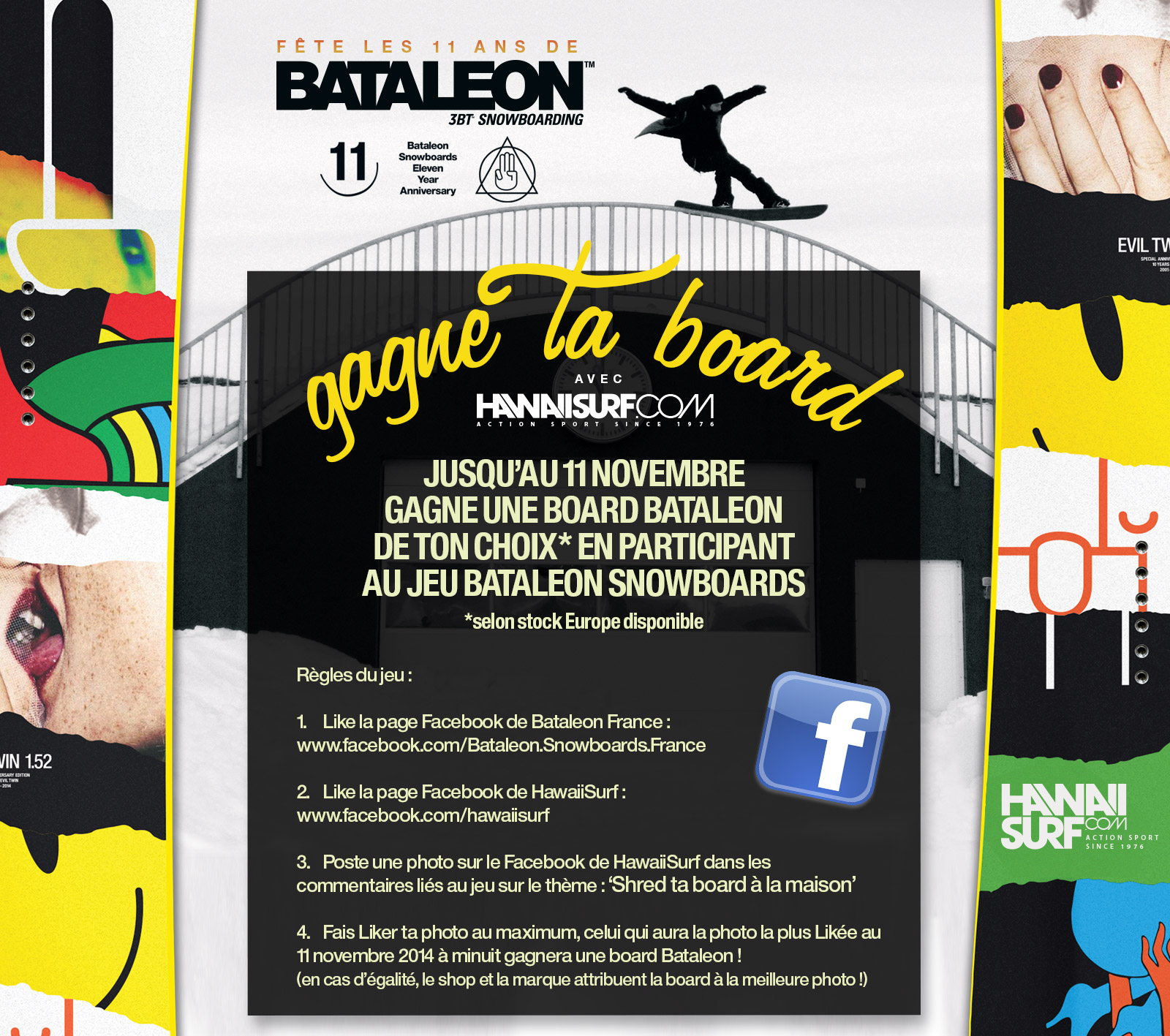 Jeu concours Bataleon Snowboard 2015