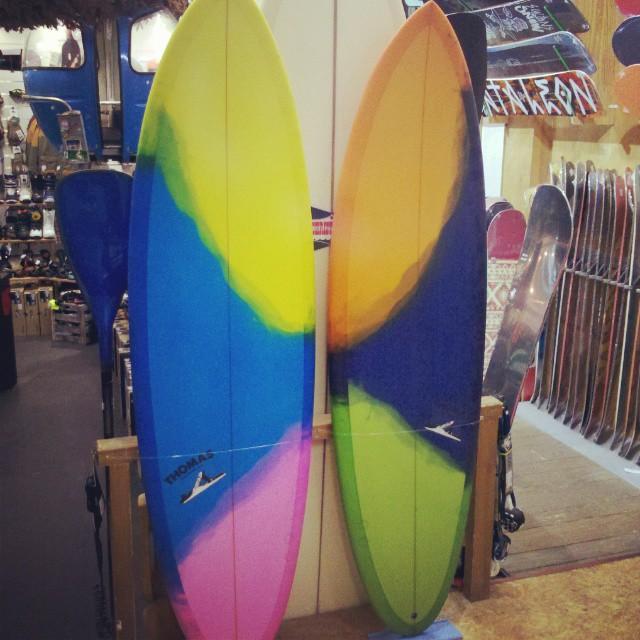 Thomas Surfboard Espresso