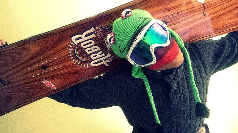 Mathieu en frog shred