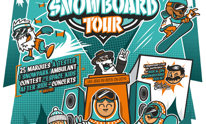 Rock on snowboard tour test 2015