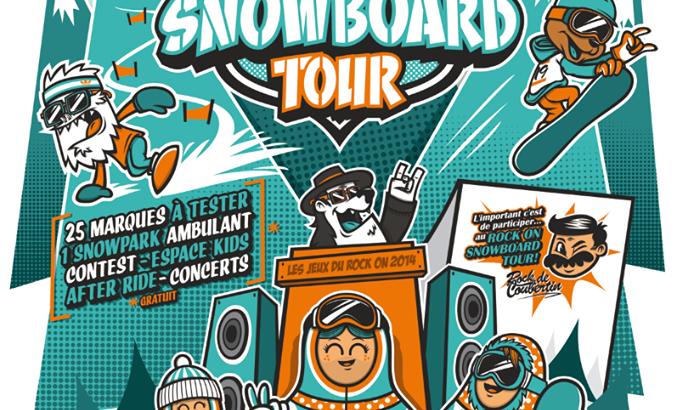 Rock on snowboard tour test 2015