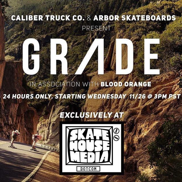 Grade video premiere avec Caliber et Arbor SKateboard