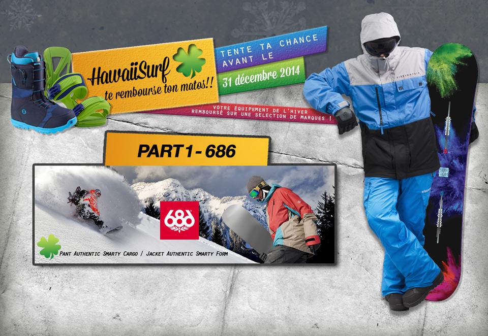 HawaiiSurf te rembourse ton matos snowboard !
