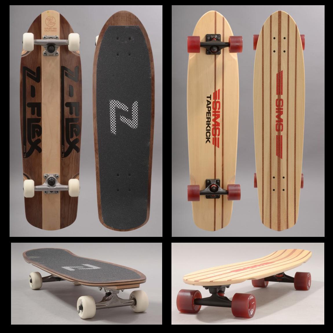 Le retour de Z-Flex Skateboards et Sims Skateboard