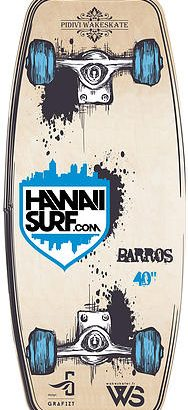 Thomas Barros pro model wakeskate pidivi HawaiiSurf
