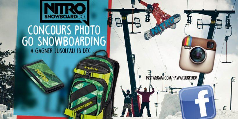 Jeu Concours Nitro Snowboard
