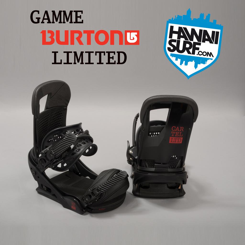 Fixations Snowboard Burton LTD limited