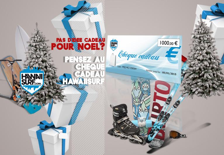 Chèques cadeaux HawaiiSurf