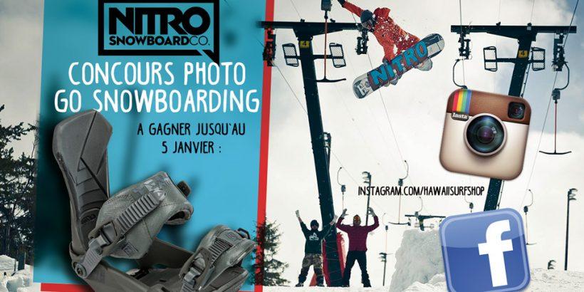 Nitro snowboard jeu hawaiisurf shop