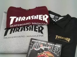 Sweats, T-shirts, vestes Thrasher Magazine