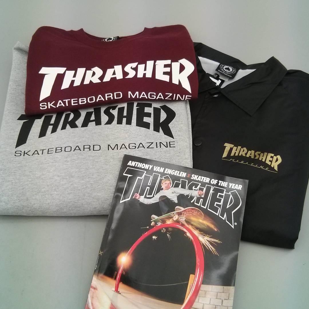 Sweats, T-shirts, vestes Thrasher Magazine