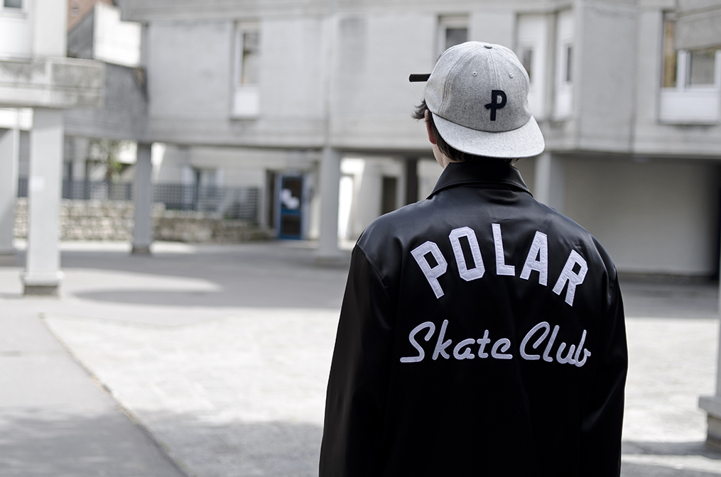 Coach jacket POLAR SKATE en vente à HawaiiSurf skateshop Paris
