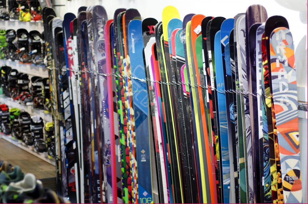nouveaux skis chez Hawaiisurf
