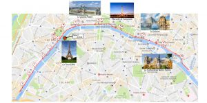parcours du marathon de paris